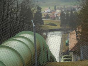 Conduite forcée du barrage de Montsalvens