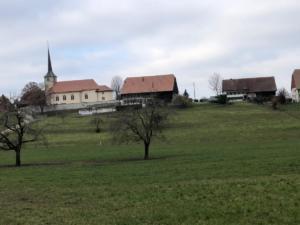 Départ de Torny-le-Grand