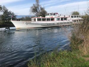 sommes au bord du canal de la Broye.