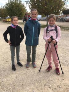 A Lugnorre voici les 3 marcheuses vedette!