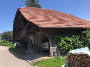 Garage à Oberulmiz.